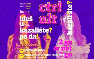 Ctrl Alt – novi kazališni ciklus u gradu Osijeku!
