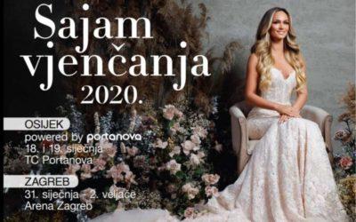 Sajam vjenčanja Osijek 2020.
