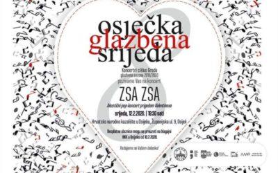 Zsa Zsa na Osječkoj glazbenoj srijedi