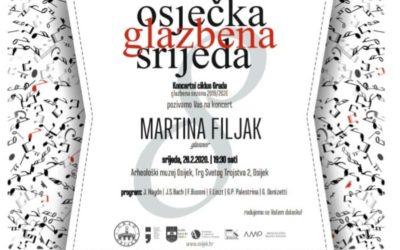 Koncertni ciklus Grada – Martina Filjak, glasovir