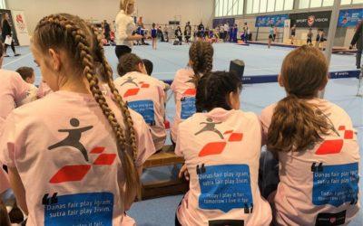 U Sokol centru održano Državno prvenstvo školskih sportskih društava u gimnastici
