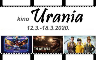 Kino Urania – Tjedni program
