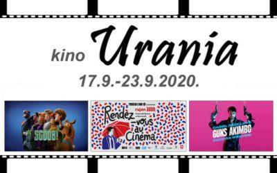 Kino Urania program (17.9. – 23.9.)