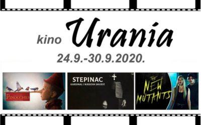 Bogat filmski program u kinu Urania