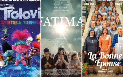 U kinu: Trolovi, Kako biti dobra supruga, Fatima i Pljačka stoljeća