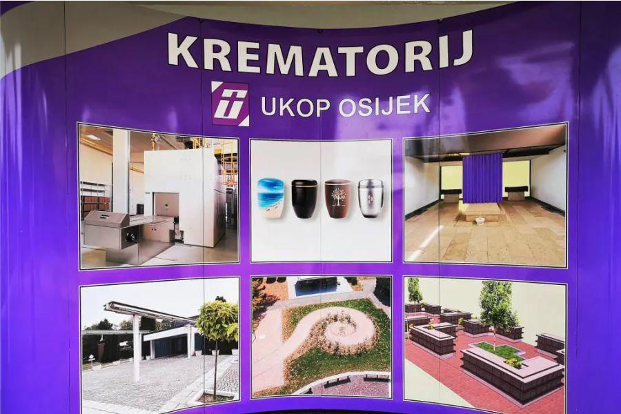 Od siječnja s radom počinje krematorij u Osijeku, drugi u Hrvatskoj
