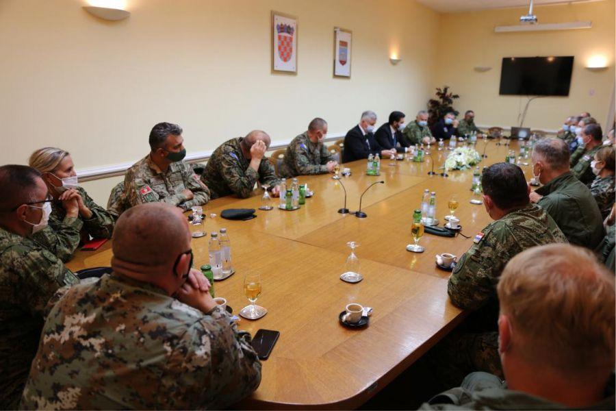 Polaznici Ratne škole posjetili Osječko-baranjsku županiju