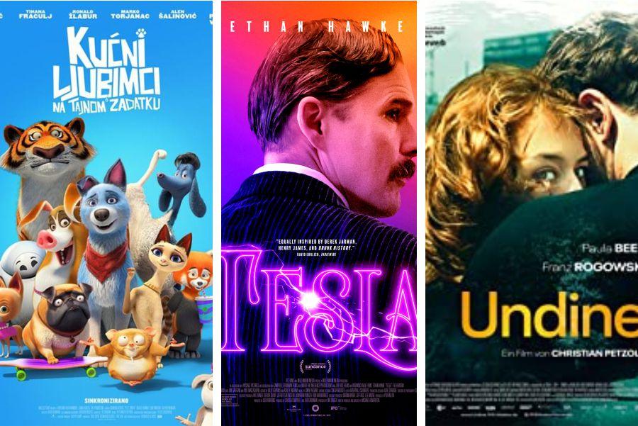 U kinu: Kućni ljubimci na tajnom zadatku, Tesla i Undine
