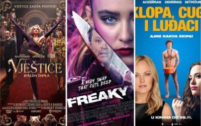 U kinu: Vještice Roalda Dahla, Freaky i Klopa, cuga i luđaci