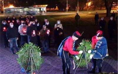 U Osijeku obilježen Dan sjećanja na žrtvu Vukovara i Škabrnje