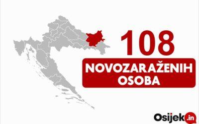 U OBŽ novopozitivno 108, a preminulo sedam osoba