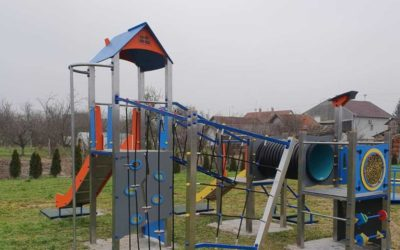 OBŽ izgradila 5 novih dječjih igrališta