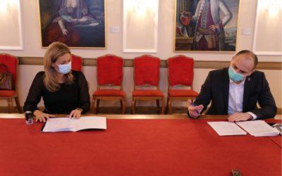 OBŽ i Učilište Studium potpisali ugovor o programu osposobljavanja 10 pomoćnika u nastavi