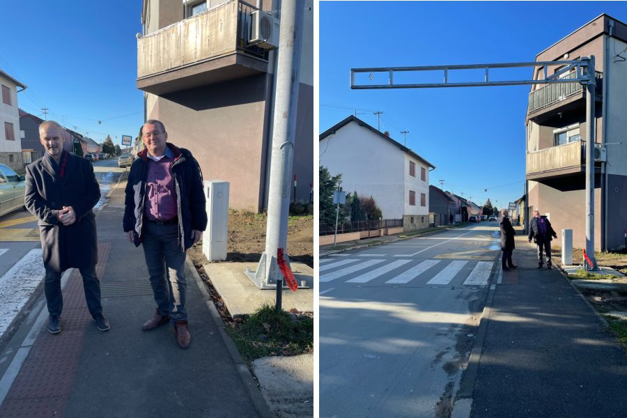 Realizirana HNS-ova inicijativa postavljanja prometne signalizacije na pješačkom prijelazu u Sljemenskoj ulici