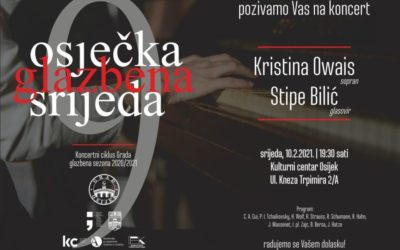 Koncertni ciklus grada: Kristina Owais (sopran) i Stipe Bilić (klavir)