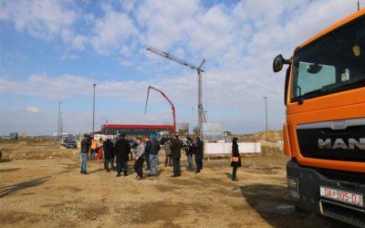 Župan Anušić obišao gradilište Regionalnog distribucijskog centra za voće i povrće