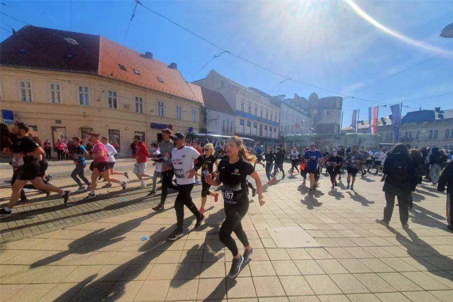 Po 17. put održana utrka s najboljim pogledom na ljepote Osijeka