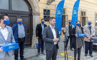 Ivan Radić predao kandidacijsku listu za osječkog gradonačelnika