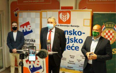 Priključenje Hrvatske seljačke stranke OBŽ platformi Pokret za Slavoniju