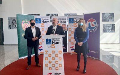 Vladimir Ham predstavio kandidate za zamjenike gradonačelnika
