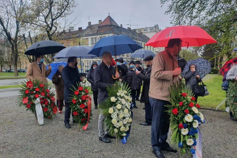 Obilježen Dan oslobođenja Osijeka od fašističke okupacije