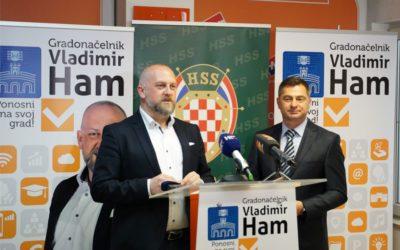 HSS podržao kandidaturu Vladimira Hama za gradonačelnika Osijeka