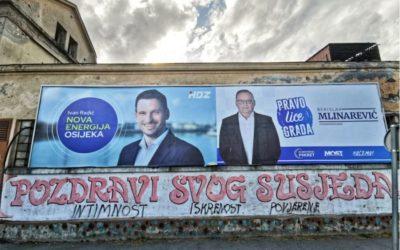 Rezultati lokalnih izbora 2021. u Osijeku
