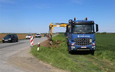 Počela obnova ceste od Nemetina do Aljmaša
