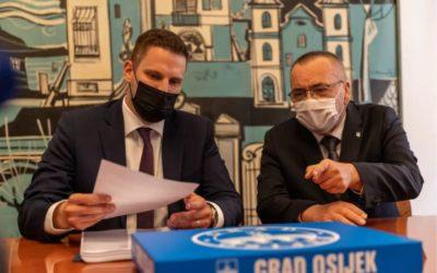 Obavljena primopredaja izvršnih ovlasti u Gradu Osijeku