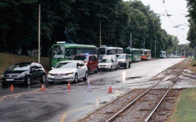 Nevrijeme zahvatilo Osijek, službe promptno reagirale