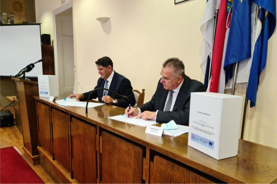 Potpisan ugovor o dovršetku radova na izgradnji Postrojenja za pročišćavanje otpadnih voda