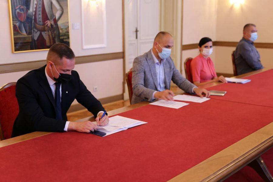 Potpora Županije za rad i razvoj Zračne luke Osijek