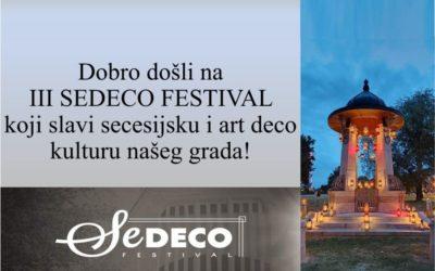 Pogledajte program trećeg Sedeco festivala!
