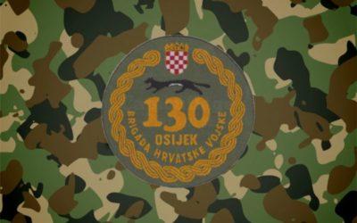 30. obljetnica ustroja 130. brigade HV Osijek