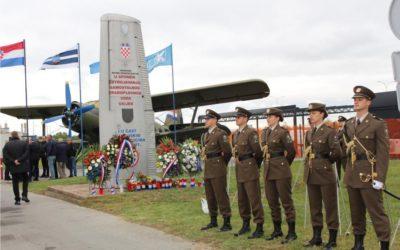 Poštovanje i divljenje hrabrim pripadnicima Samostalnog zrakoplovnog voda Osijek