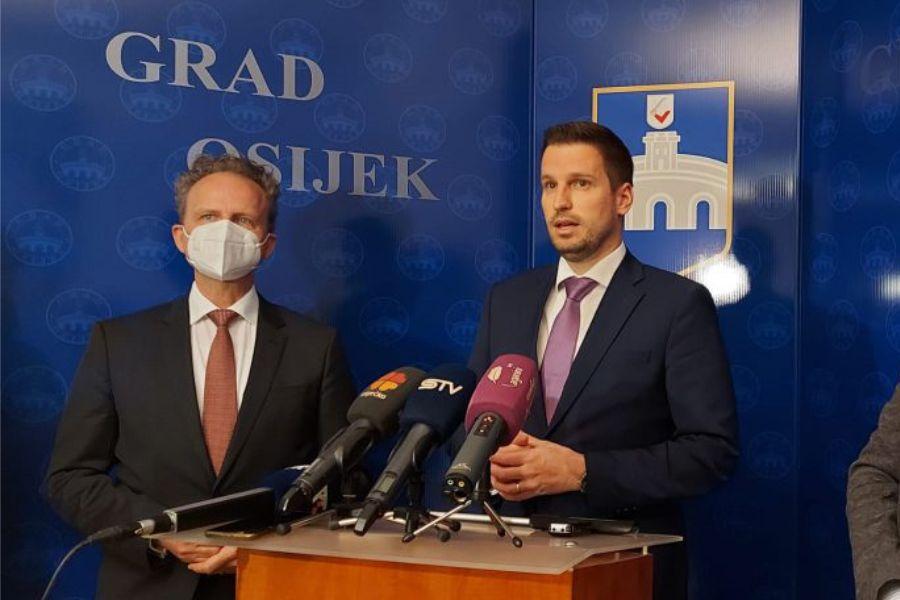 Veleposlanik Klinke: Osijek postaje važna točka za buduće njemačke investicije