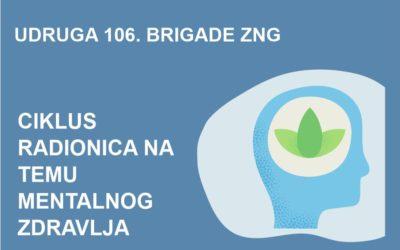 "Udruga 106. brigade ZNG RH provodi projekt pod nazivom ""Podrška sa socijalne distance"""