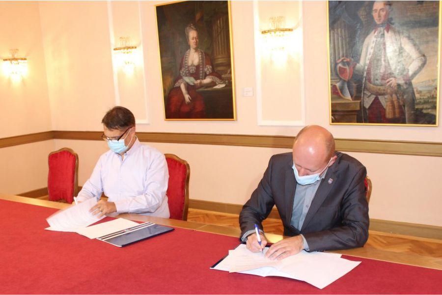 Jučer je potpisan sporazum o suradnji Odjela za matematiku i Županije
